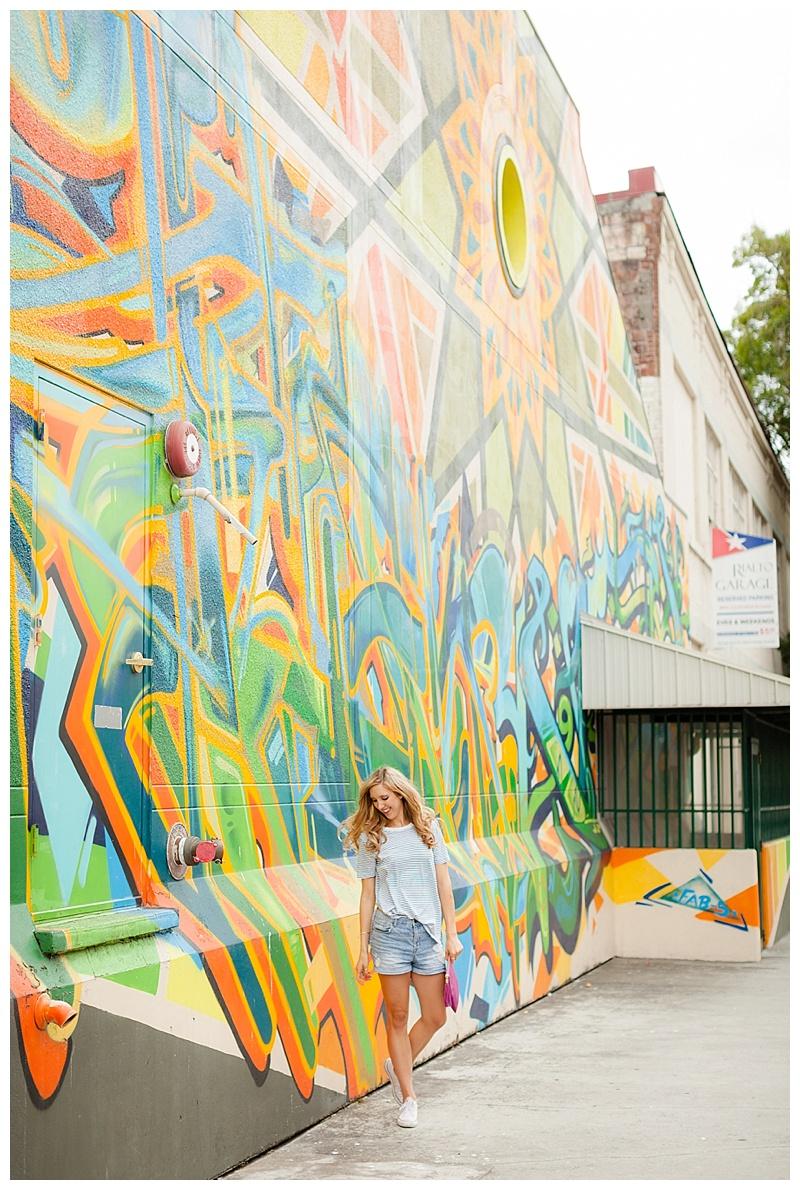 Stripes and a Geometric Wall