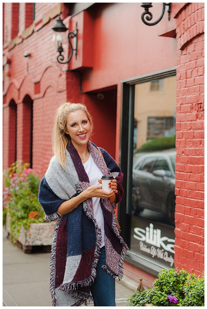 Cozy Fall Layers (and the shawl you'll need to stay warm!)