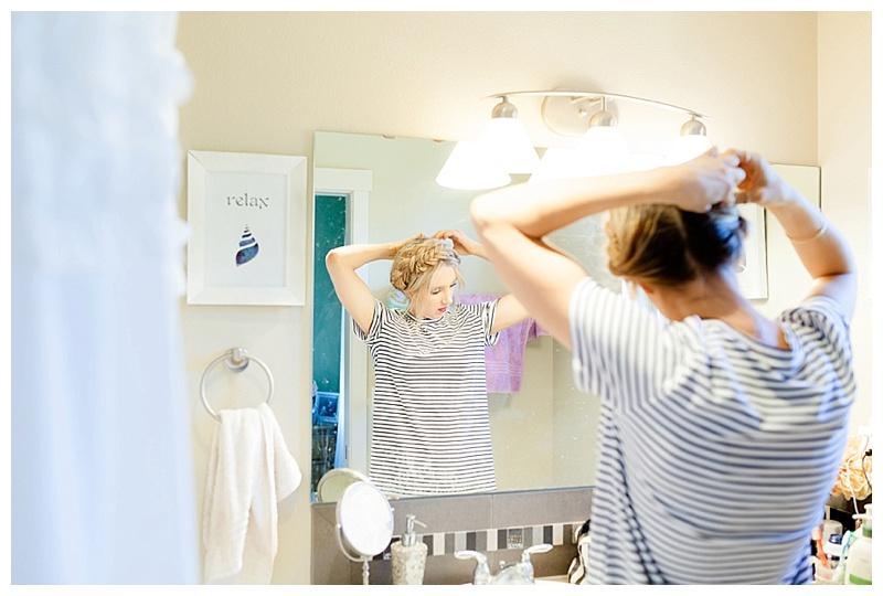 How To Create Milk Maid Braids
