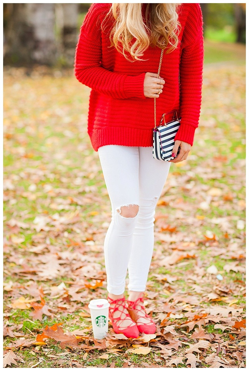 How To Wear Red and Make It Pop