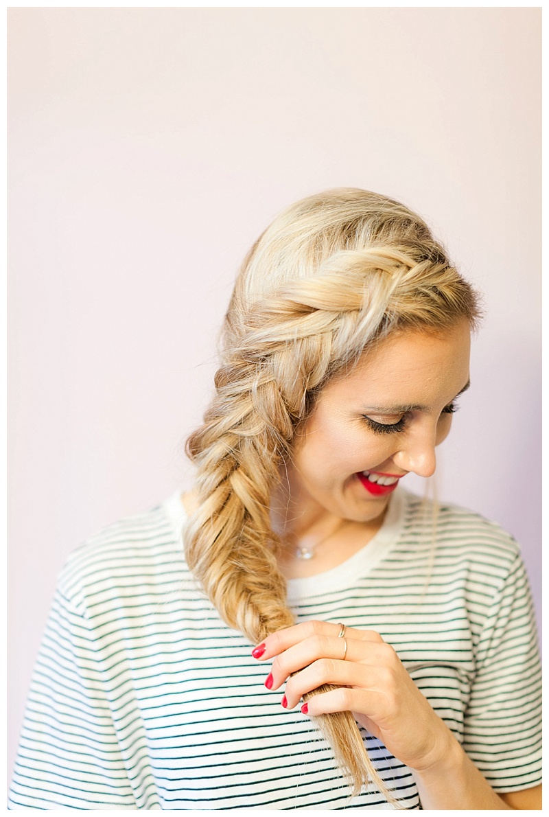 How To Create my Princess Elsa Inspired Braid