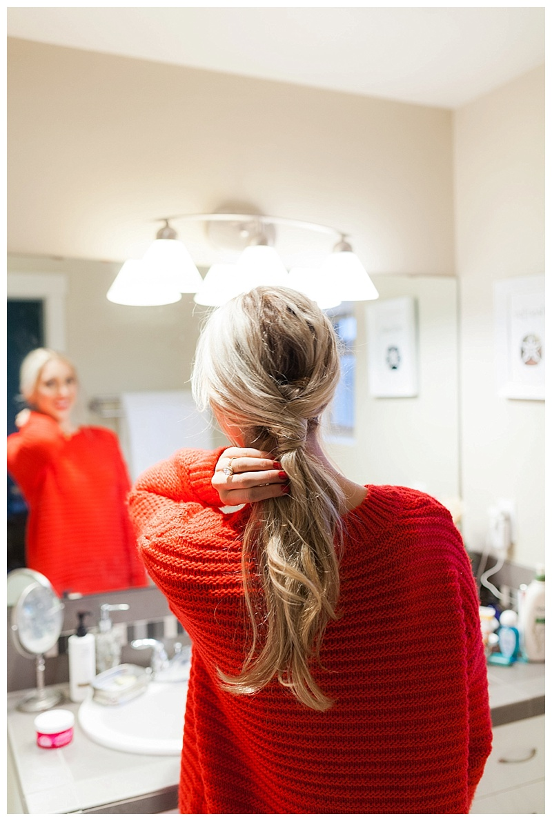 An Easy Holiday Hairstyle