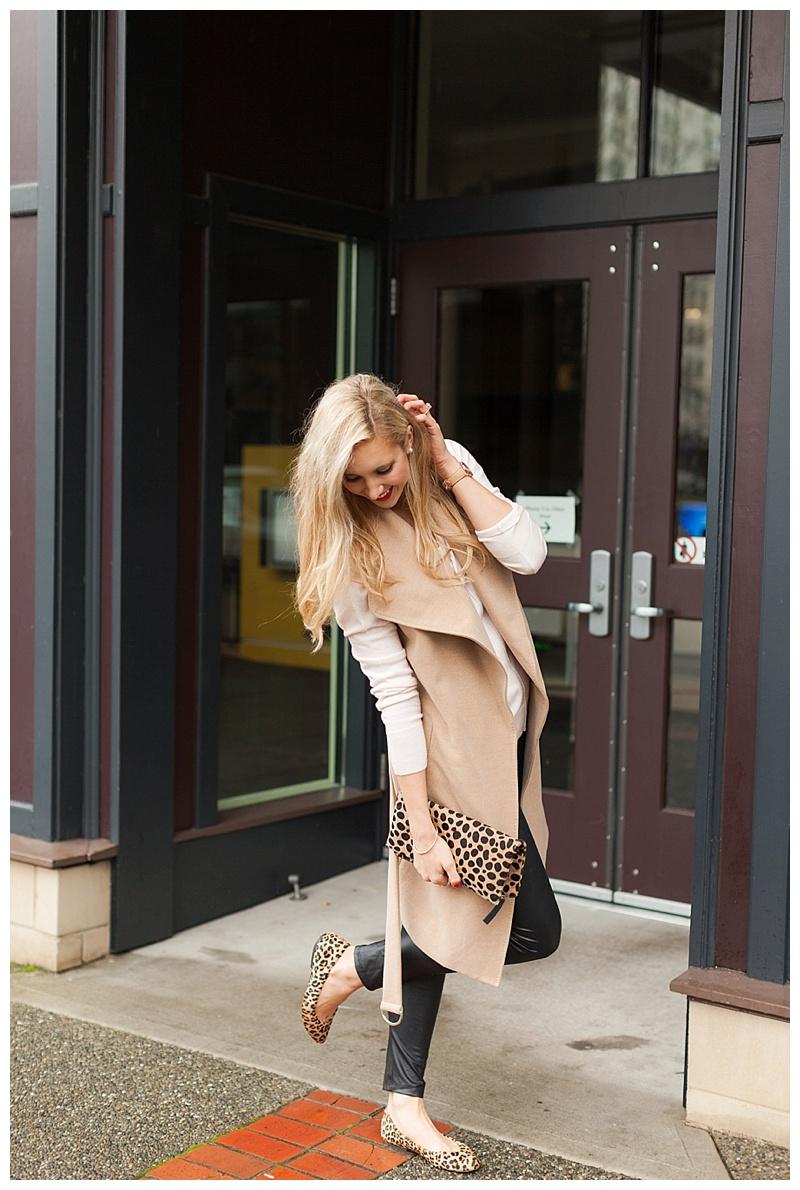 How To Make Faux Leather Leggings Feminine