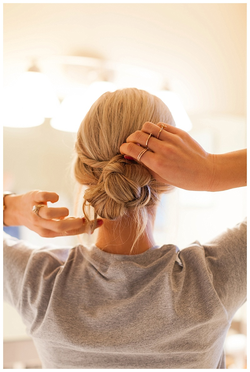 How To Create An Elegant Updo in Under 5 Minutes