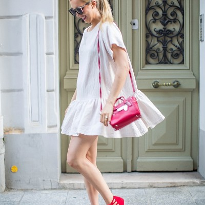parisian style, blush and camo, style blog, fashion blog, style, fashion, how to style, monochromatic outfit