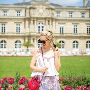 blush and camo, parisian style, fashion blog