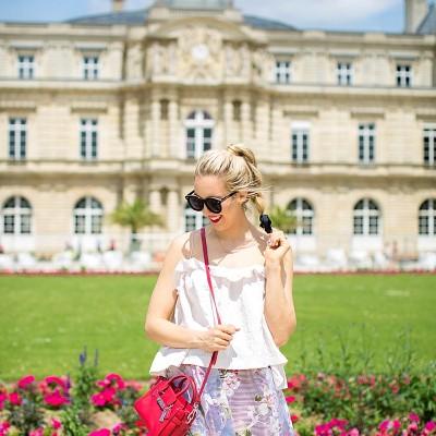 blush and camo, parisian style, fashion blog