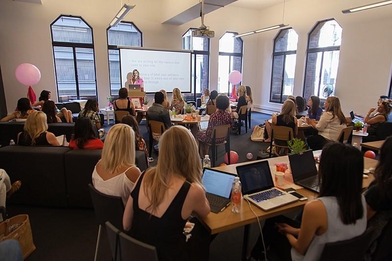 Seattle Stye Lab, blush and camo, blogging event, blogger besties