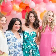 Seattle Stye Lab, blush and camo, blogging event, blogger besties