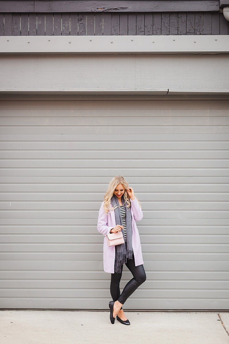 blush and camo, style blog, fashion blog, how to create your own trend, trends, pink coat, chanel flats, kate spade