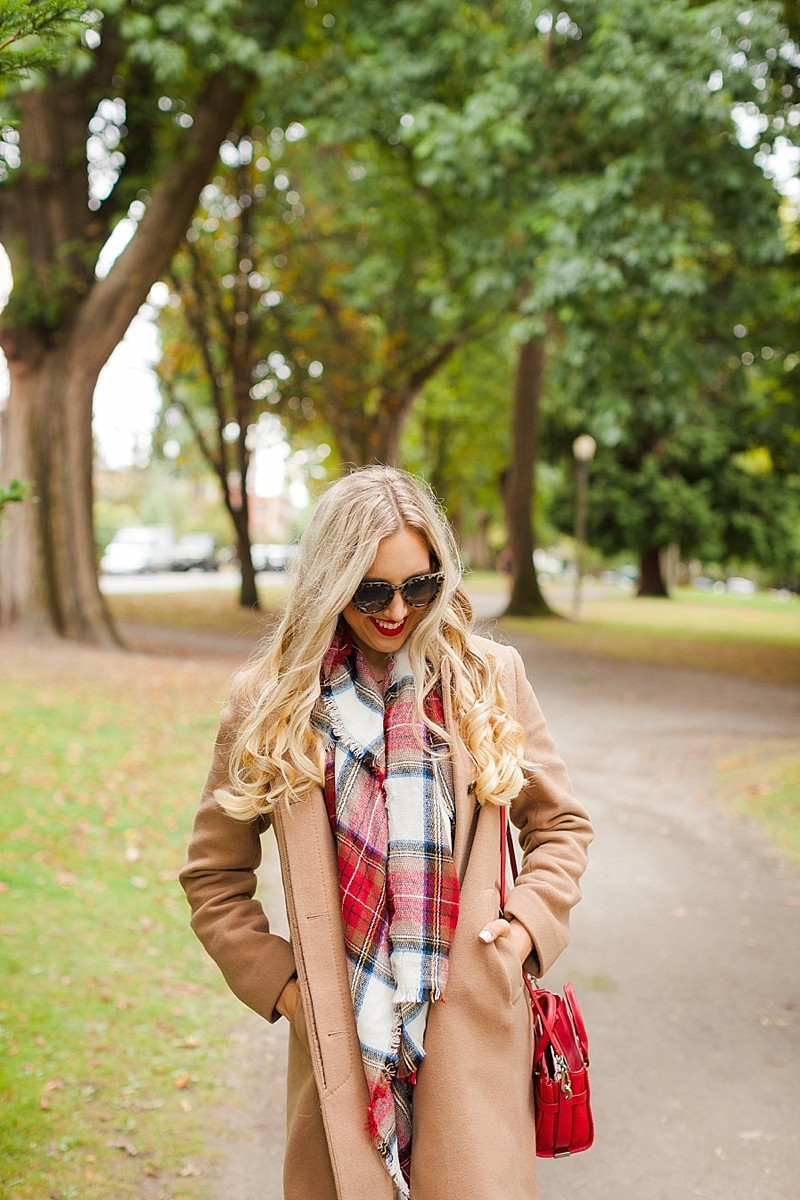 blush and camo, fall fashion, It Girl, style blog, fashion blog, plaid, booties