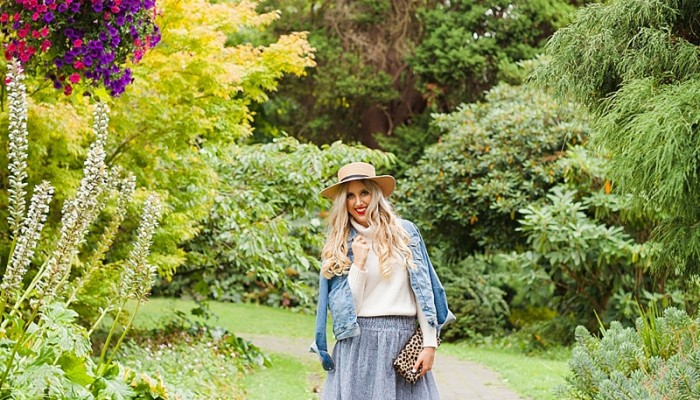 How To Style A Fall Outfit Using Pieces From Every Season