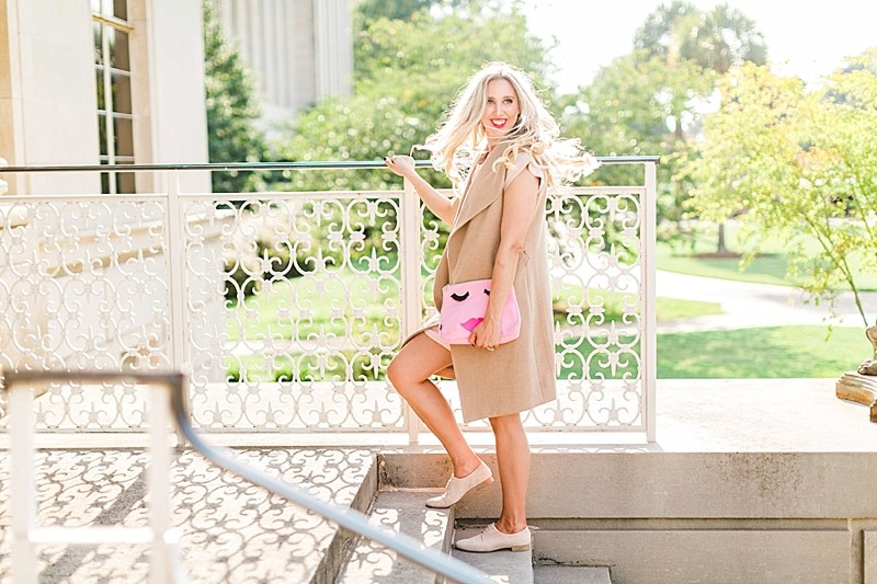 blush and camo, style blog, fashion blog, south carolina style, pink dress, fall fashion, fall style, mgemi shoes