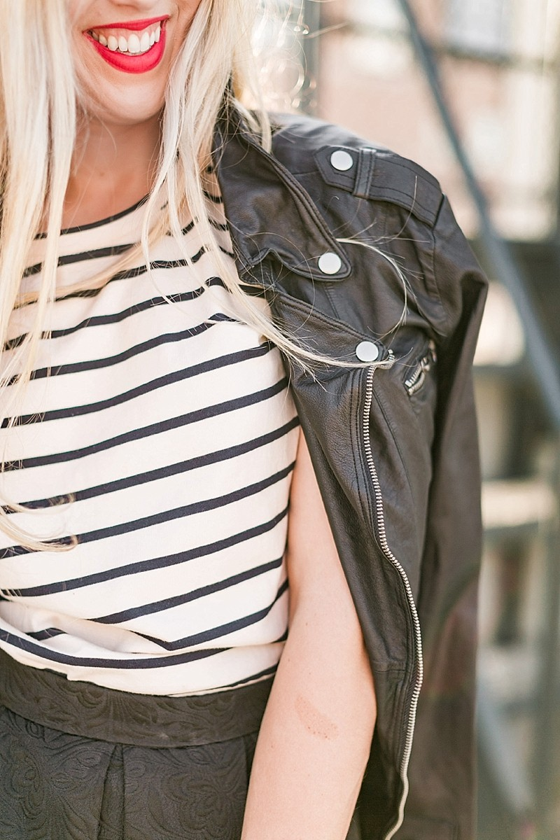 blush and camo, style blog, fashion blog, stripes, style tips, how to style