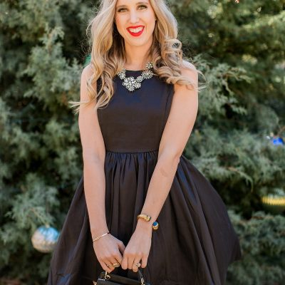 How To Style A LBD For The Holidays with Francesca's