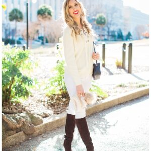 blush and camo, white after labor day. style tips, winter boots, suede boots, gigi new york