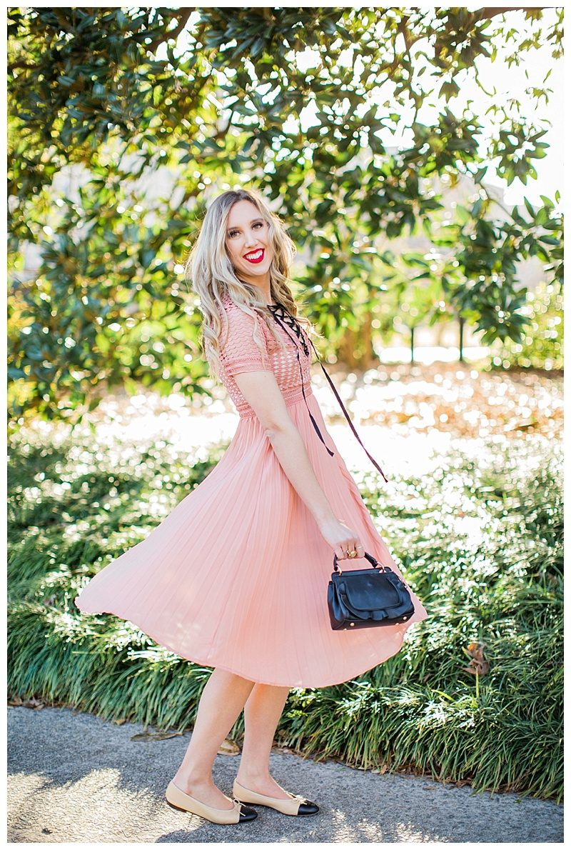 blush and camo, style blog, coral, valentine's day, shop maude