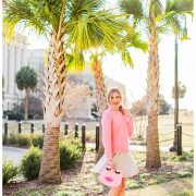 blush and camo, neon, j. crew, pink, feminine style, style tips