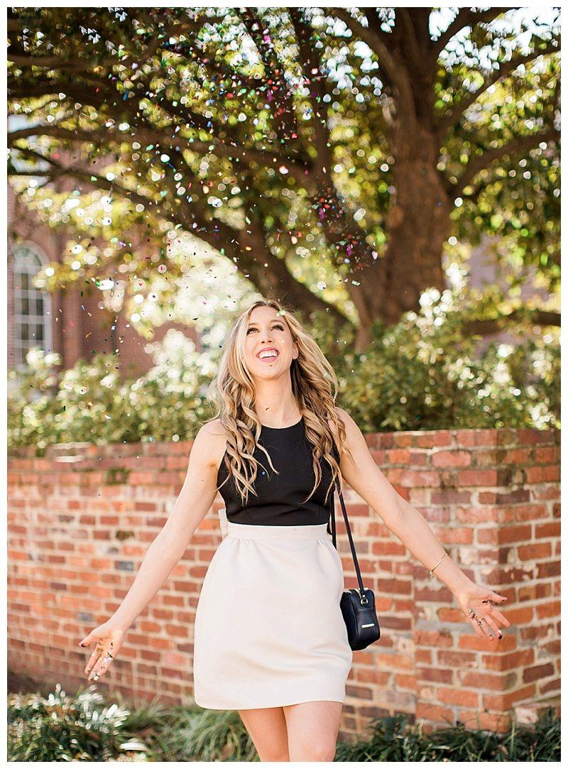 blush and camo, kate spade dress, bow, spring style, south carolina style, block heels, velvet heels