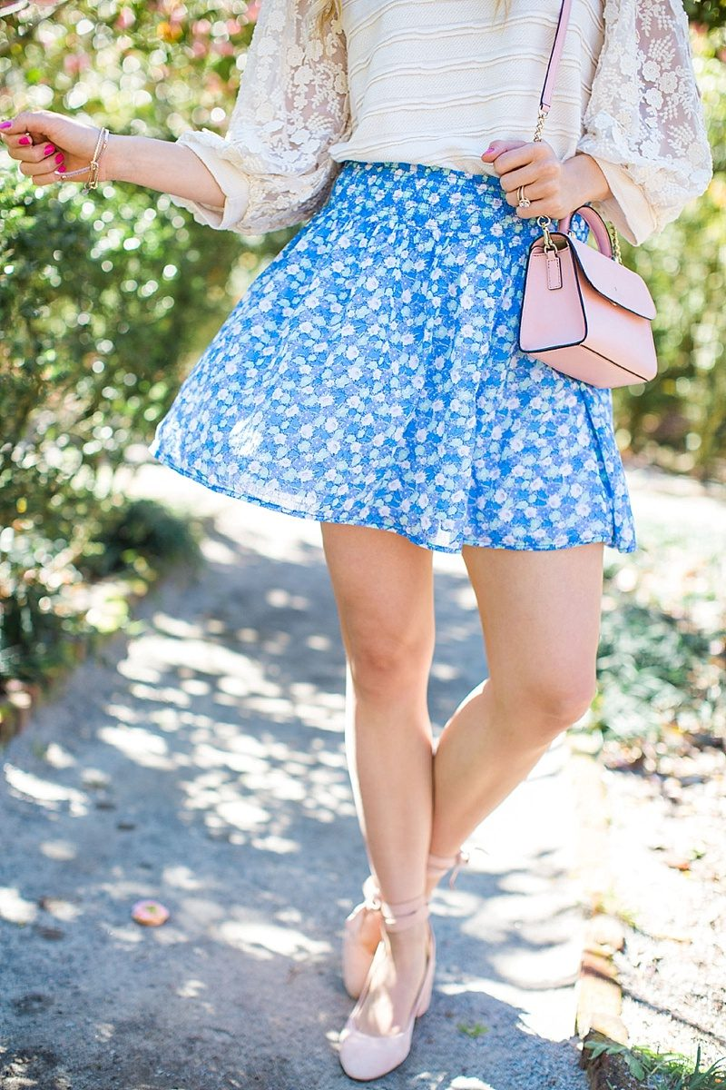 blush and camo, anthropologie, spring style, fashion blog, style blog, stye tips, shopping tips, old navy skirt, pink heels, block heels, old navy skirt