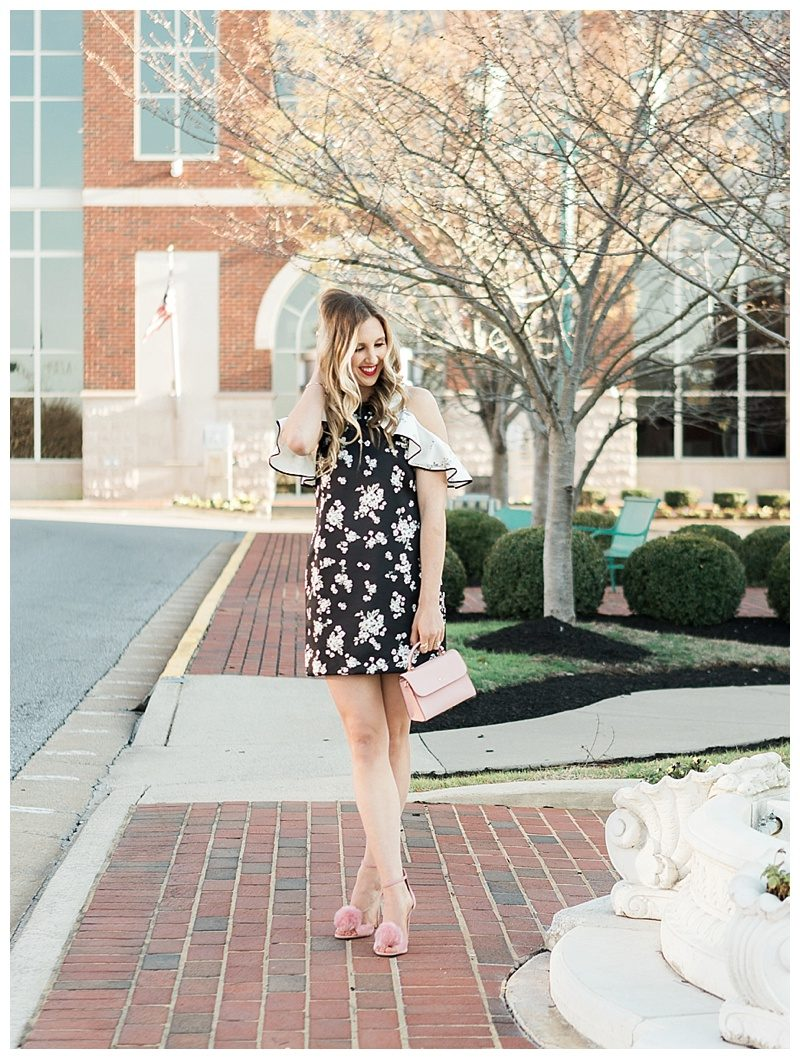 blush and camo, style tips, makeup, how to get ready for a photoshoot, makeup products for a photoshoot, spring style