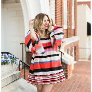 blush and camo, stripes, how to style, style tips, chanel flats