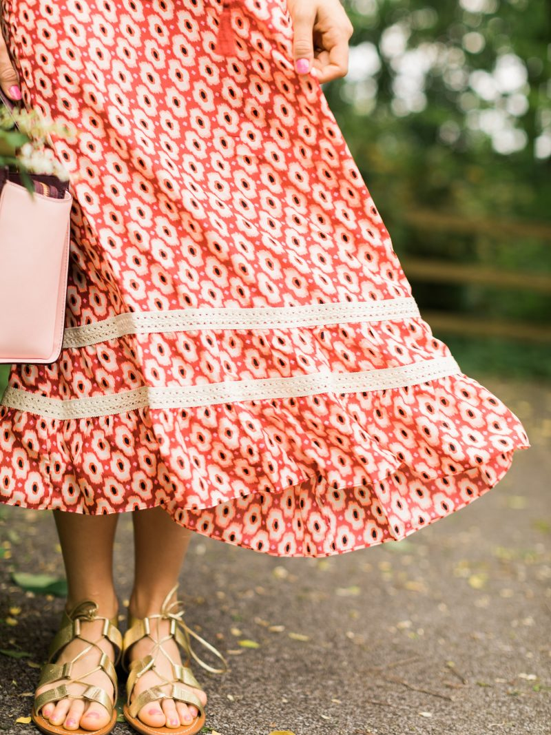 blush and camo, kate spade new york, HauteLook, spring outfit