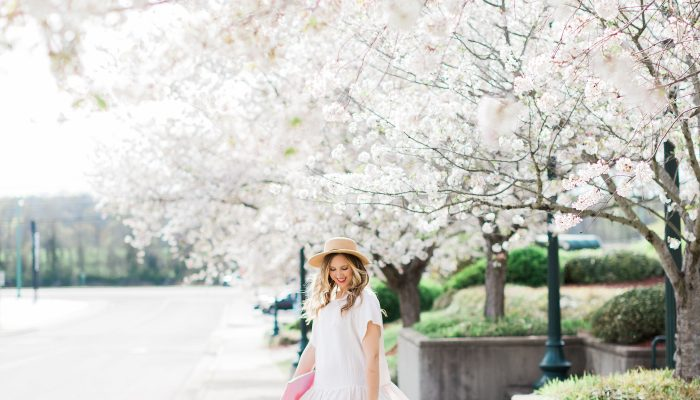 The Perfect Little White Dress (LWD) for Spring