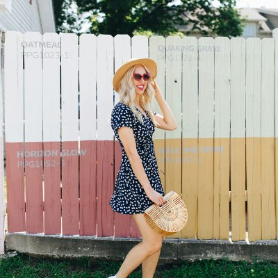 Daisy Printed Skater Dress + 20 Daisy Printed Items SO Cute For Summer!