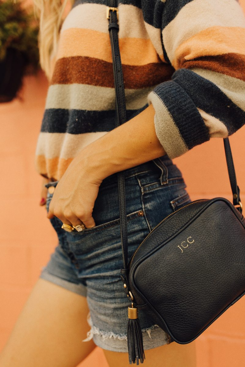 fall trends, fall style, fall style tips, stripe sweater, blush and camo, 3 fall trends,