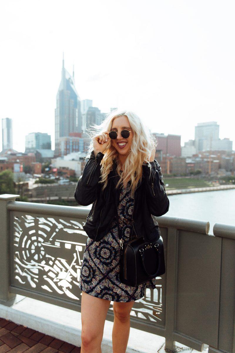 fall style, fall style tips, nashville style, nashville blogger, leather jacket. vans, style tips, edgy style, chic style, fall style, blush and camo