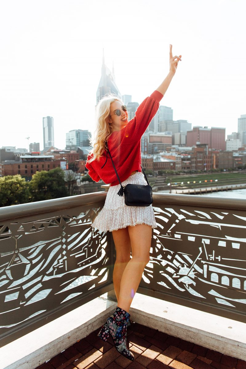 blush and camo, free people, printed booties, fall style tips, style tips, fashion rule, southern style, nashville style, gigi new york