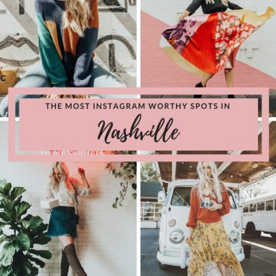 The Most Instagram Worthy Spots in Nashville, blush and camo, nashville murals,