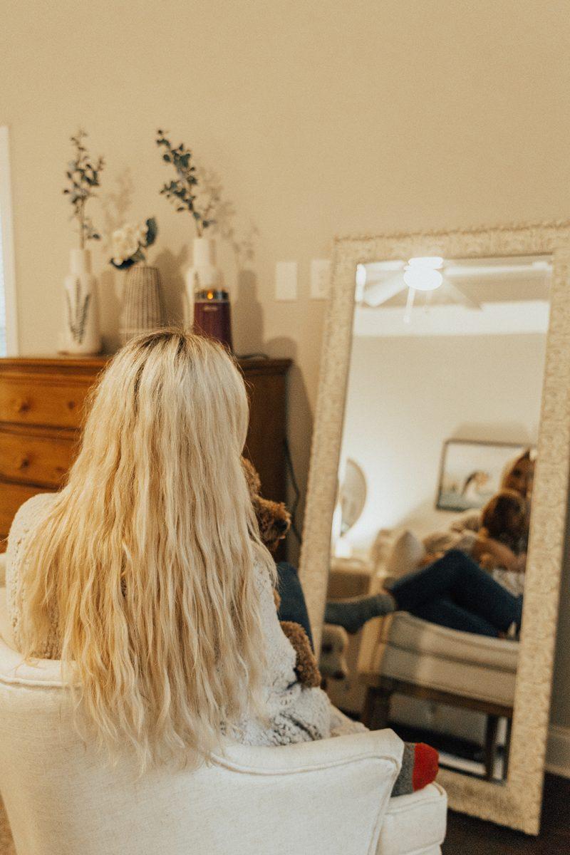 blush and camo, CONAIR, Bun-2-Done, hair tips, mermaid waves, hair styles, curls, beach waves