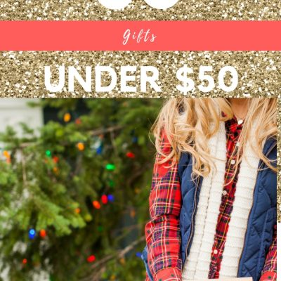 50 Gifts Under $50, gifts under $50, blush and camo, gift guide