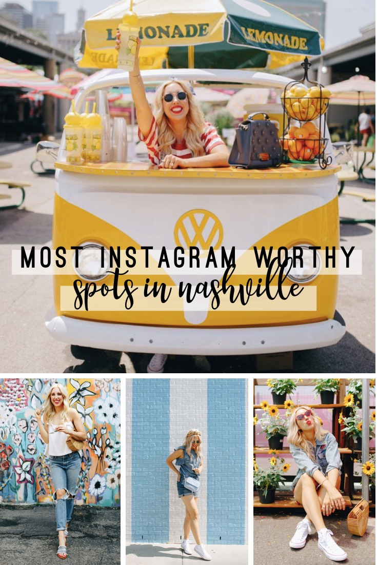 The Most Instagram Worthy Spots in Nashville