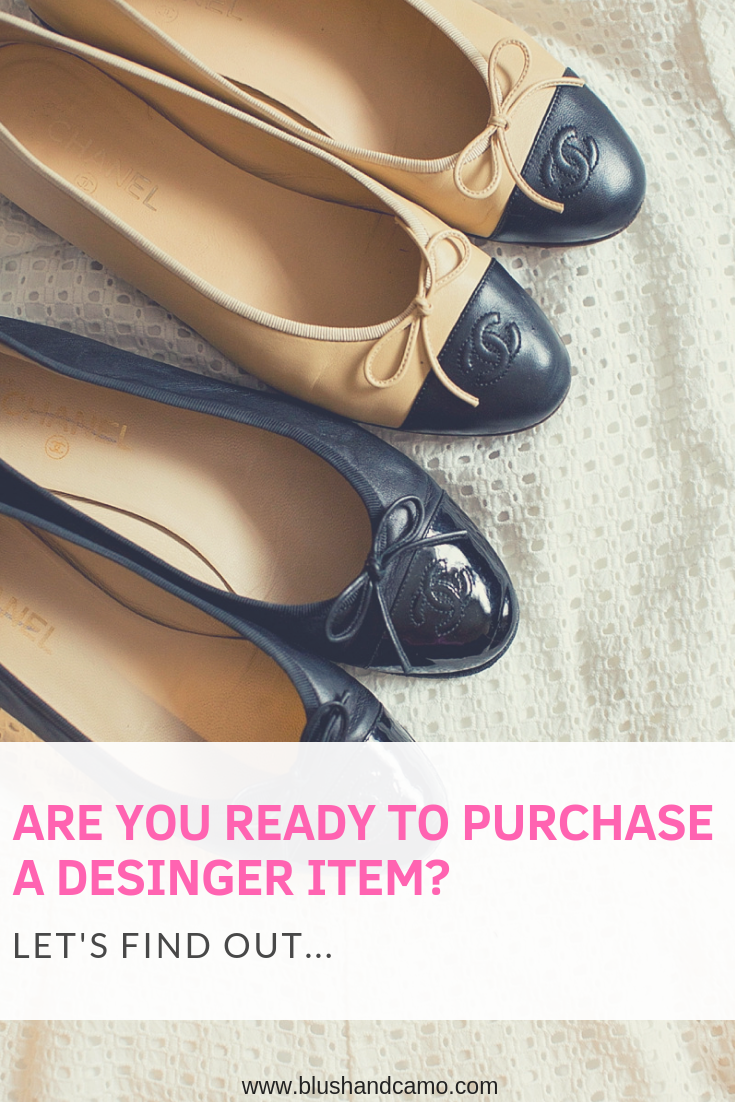 designer items, designer on a budget, blush and camo, designer dupes, budget saving tips, budget tips