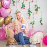 Valentine's Day With My Fur Babies & Pet Plate