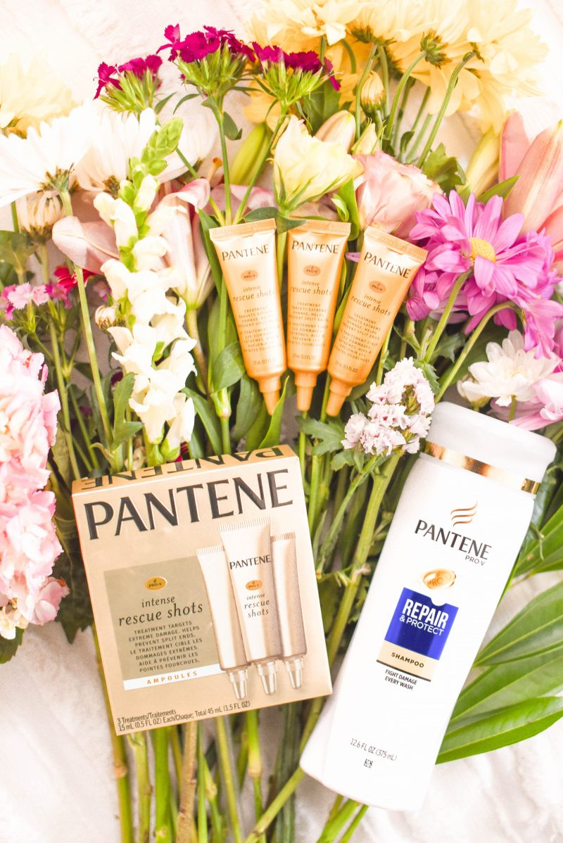 blush and camo, HOW I DEEP CONDITION MY HAIR UNDER $5 WITH PANTENE PRO-V INTENSE RESCUE SHOTS, pantene rescue shots, hair care, hairstyle, deep condition