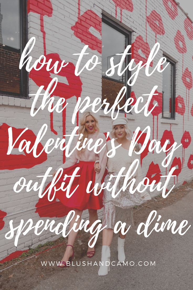 Valentine's Day outfit, valentine's day outfit on a budget, style on a budget