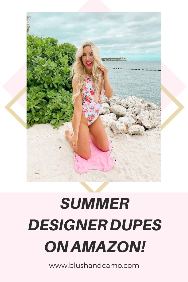 Summer Designer Dupes from Amazon!