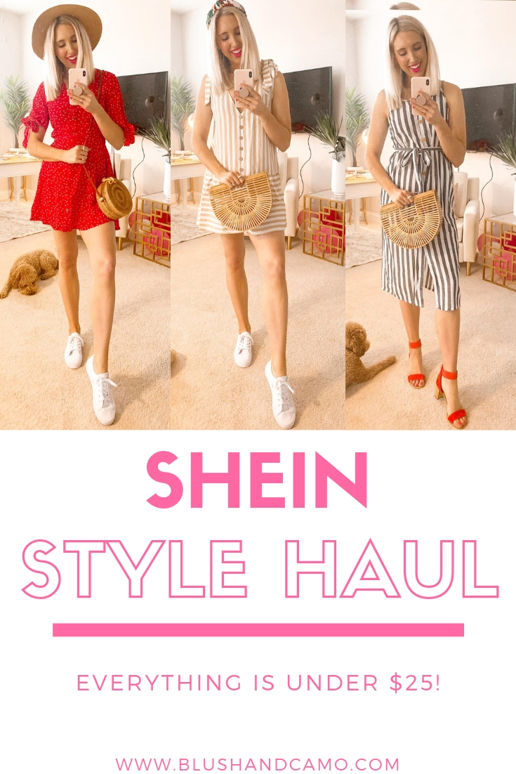 SheIn Summer 2019 Style Haul Under $25