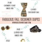 Amazon Designer Dupes For FALL 2019