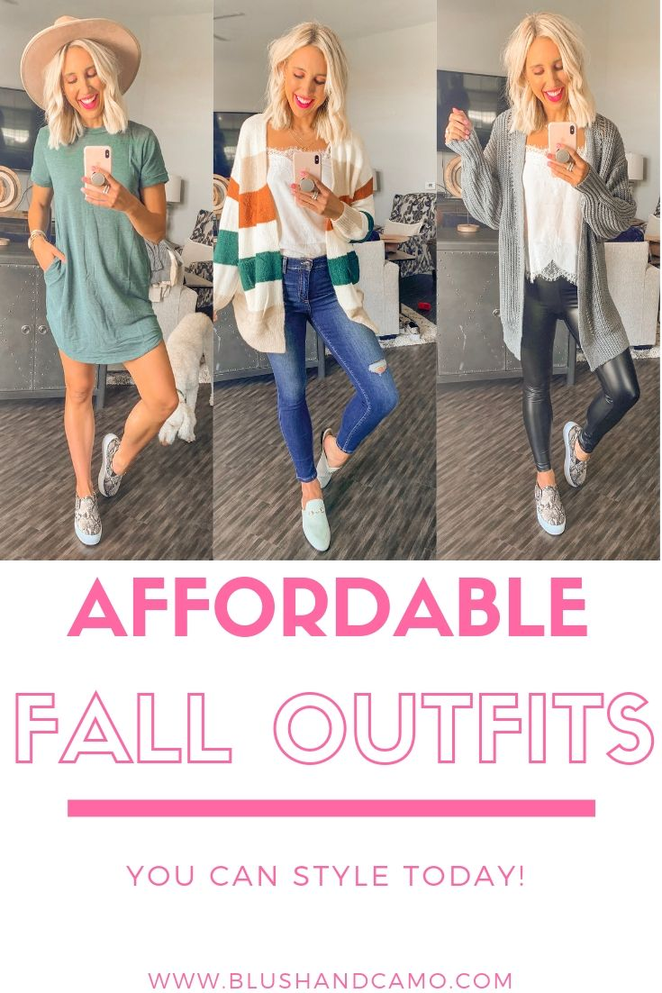 4 Casual and Affordable Fall Outfits to Replicate Now