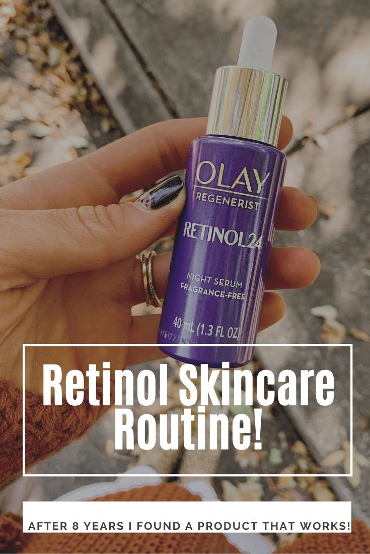 My Retinol Skincare Routine