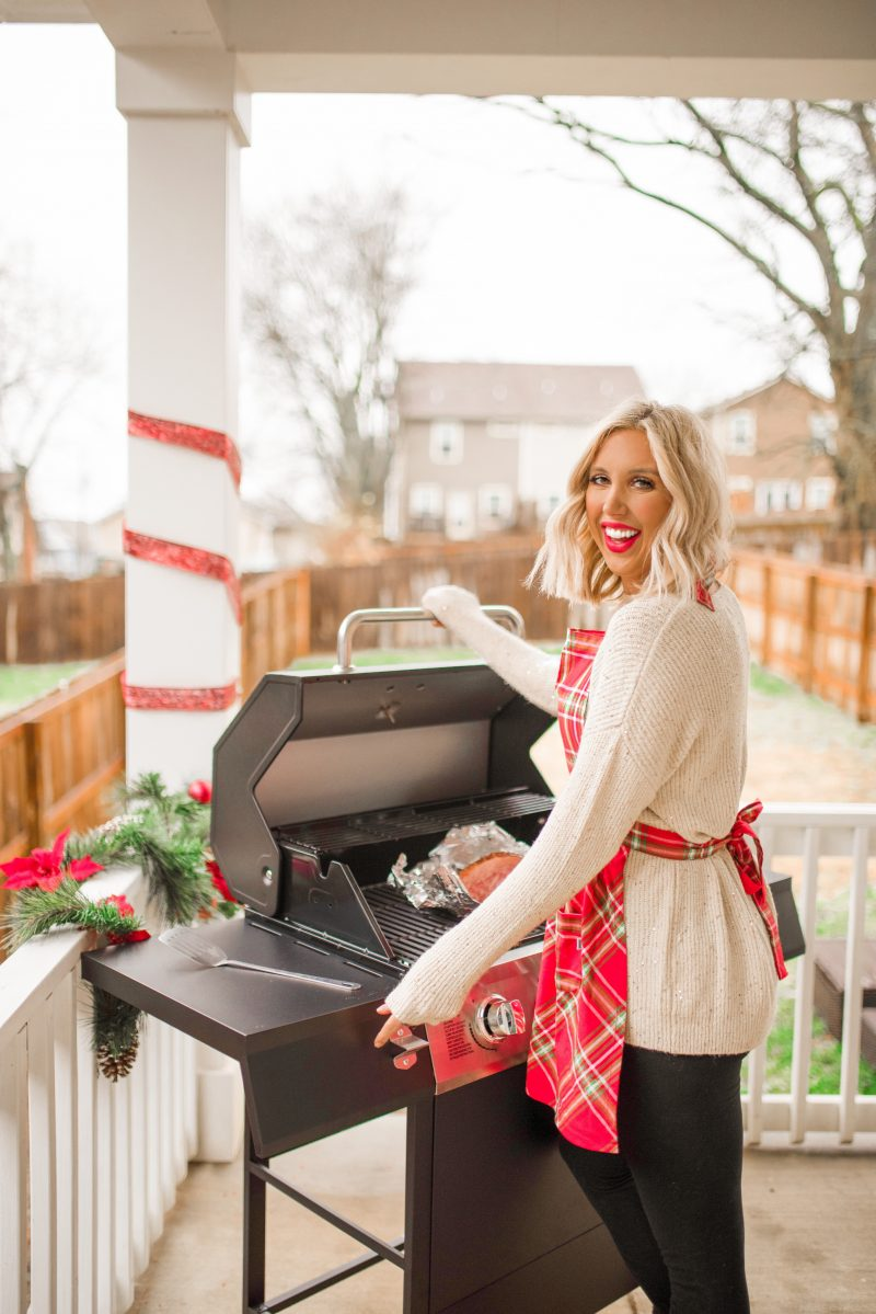 New Grill + Grilling Recipe For The Holidays