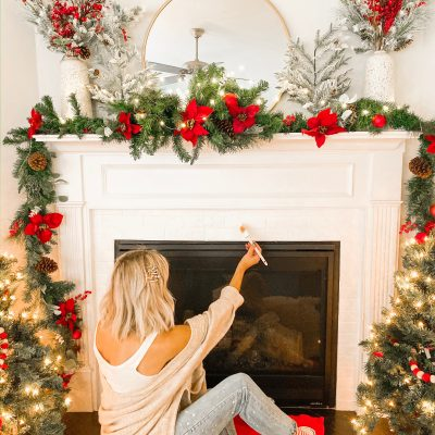 Painting My Fireplace Tile White