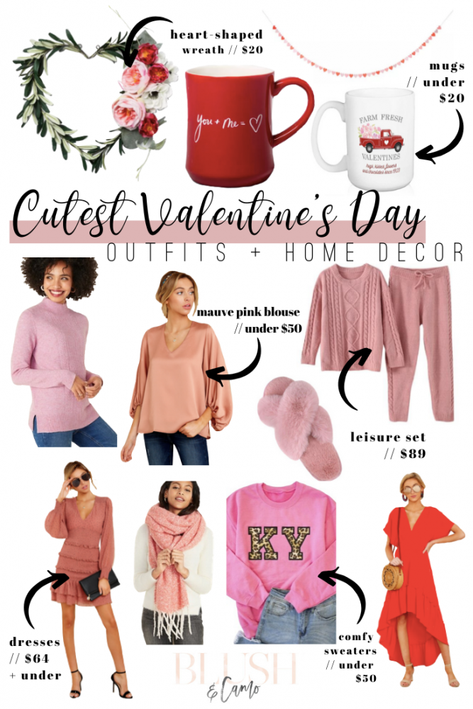 The CUTEST Valentine's Day Outfits + Home Decor