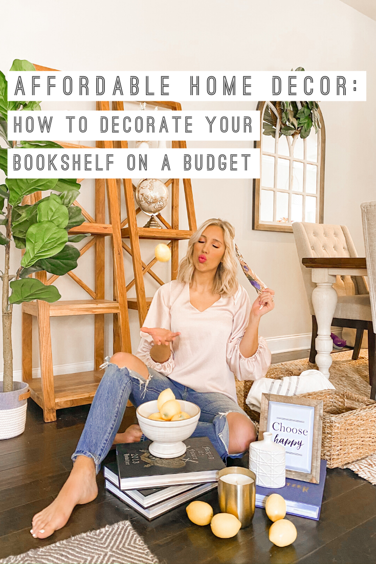 How To Decorate Your Shelves On A Budget