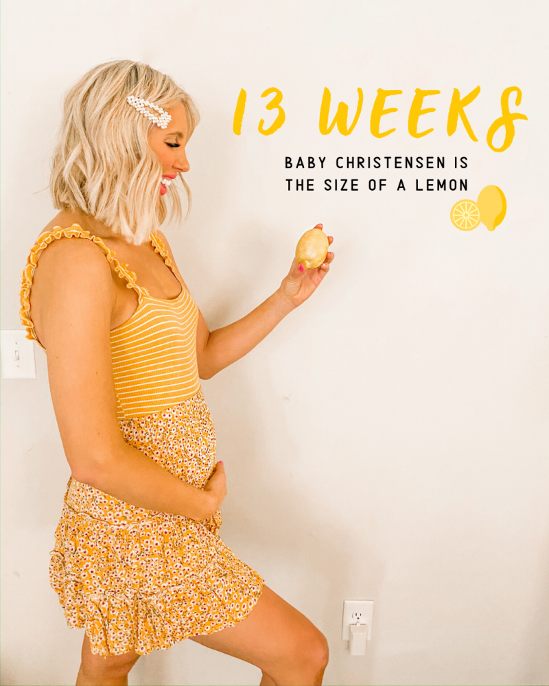 First Trimester Recap: Cravings, Symptoms + New Workout Routine